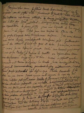 (26 octobre 1828), (Tours), à J.B. Pierret