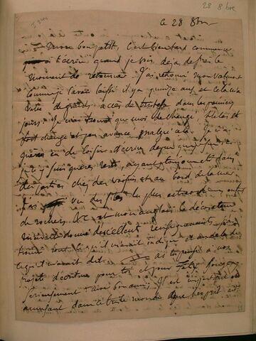 28 octobre (1829), Valmont, à J.B. Pierret