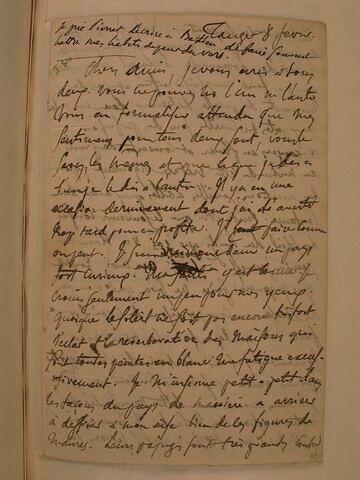 8 février (1832), Tanger, à J.B. Pierret et à F. Guillemardet
