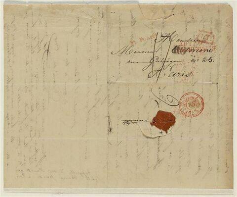 2 décembre 1825, Rome, à Abel Osmond