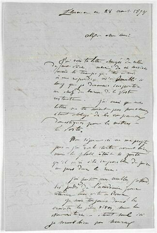 28 août 1858, Florence, à Louis Barnet