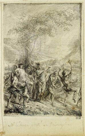 Réception du chevalier de Bossu au pays des Akansas