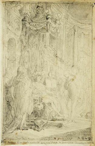 Cérémonie de la remise de l'Ordre du Saint-Esprit à Versailles
