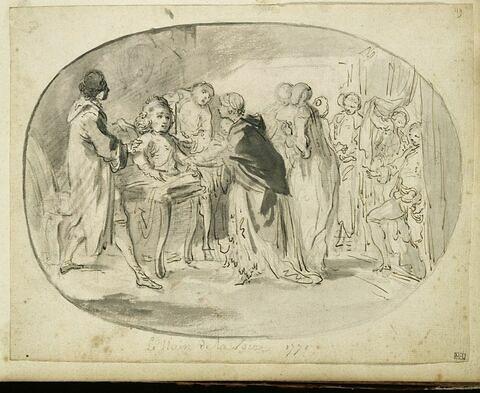 Le Nain de la foire, en 1770