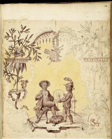 Hercule et Omphale sous l'aspect d'enfants