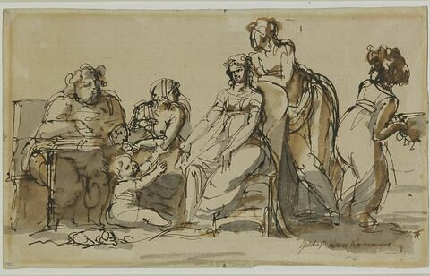 La Famille de Sergel ou la Chambre de Gustave