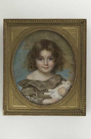 Portrait de fillette : Ma fille Eliane