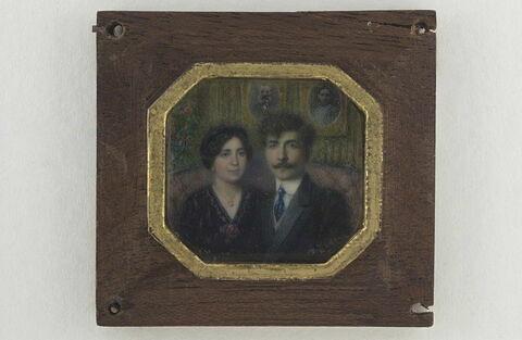 Portrait de l'artiste et de sa femme