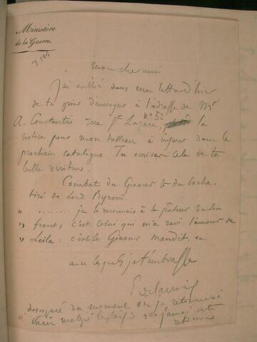 (14 juin 1826), (La Charité), à J.B. Pierret