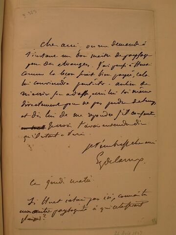 (1847), sans lieu, à J.B. Pierret