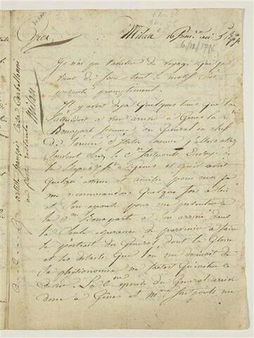 16 frimaire an 5e République française [6 décembre 1796], Milan