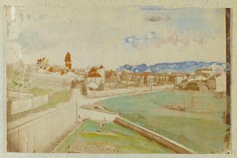 Deux photos annotées par Jongkind, 28 mars 1886, 7 janv. 1888, Côte St-André