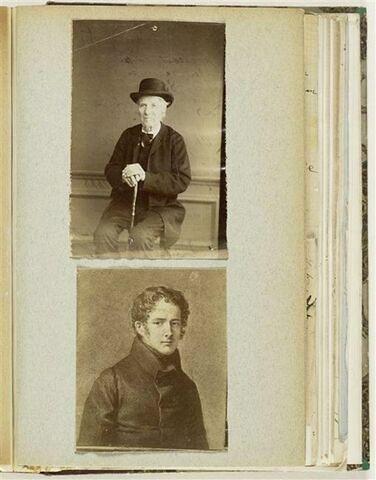 Deux photos annotées par Jongkind