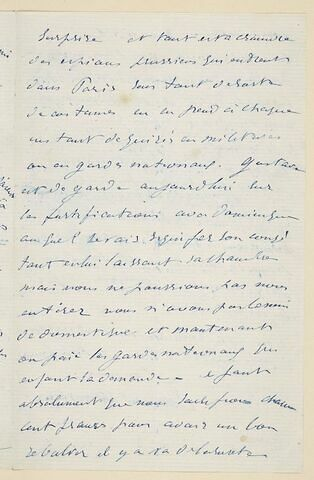 17 septembre (1870), Paris, à sa femme