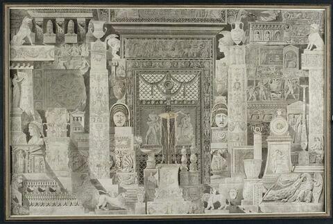 Divers fragments antiques et modernes dessinés d'après nature