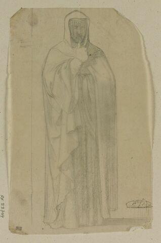 Etude d'homme drapé, Robert de Sorbon