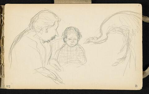 Etude pour Mère et enfant