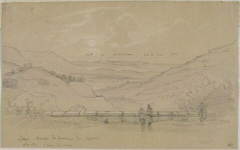 Sortino : vue depuis la terrace du couvent des Capucins
