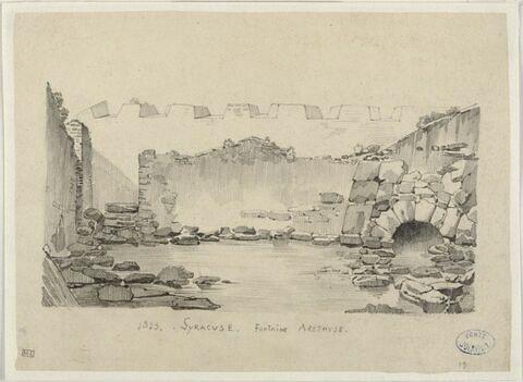 Syracuse : la fontaine d'Aréthuse