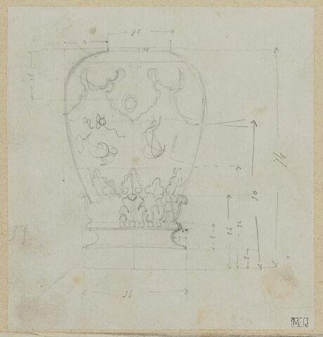 Relevés d'architecure et de décor du château de Bercy