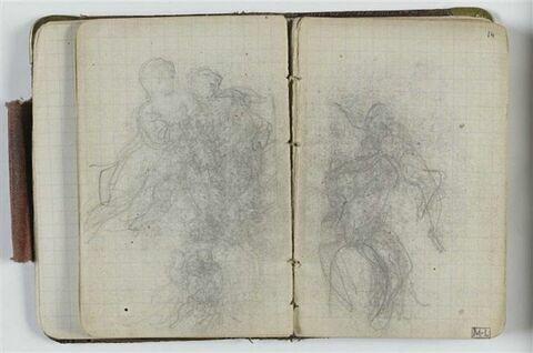 Etude de composition avec figures