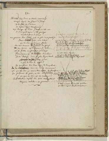 Traduction en français de l'Ode 20 d'Anacréon