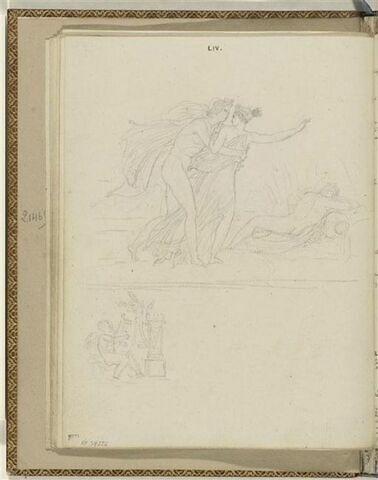 Deux illustrations pour une Ode d'Anacréon