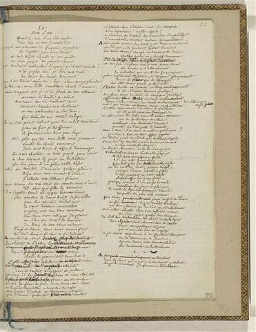 Traduction en français de l'Ode 54 d'Anacréon