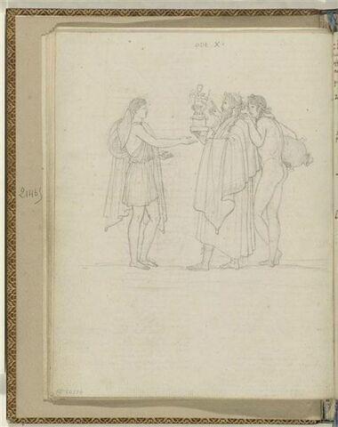 Illustration pour l'Ode 10 d'Anacréon