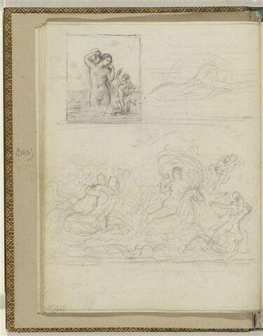 Trois illustrations pour les Odes d'Anacréon (51?)
