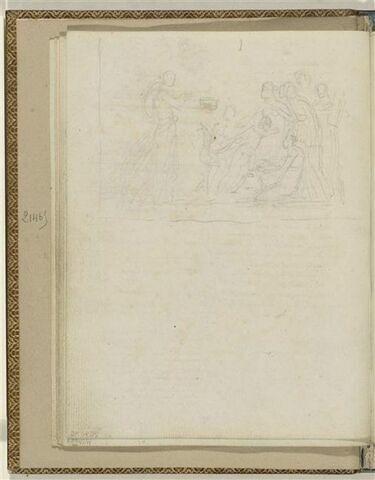 Illustration pour l'Ode 30 d'Anacréon