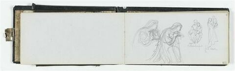 Etudes diverses et annotations manuscrites