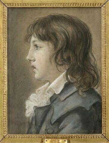 Portrait d'Auguste-Jules Armand Marie de Polignac ( 1780-1847).