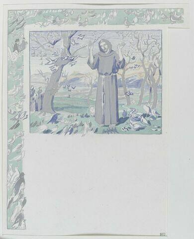 Illustration pour Fioretti. Petites Fleurs de saint François d'Assise