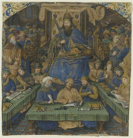 L'empereur Justinien promulguant le Code