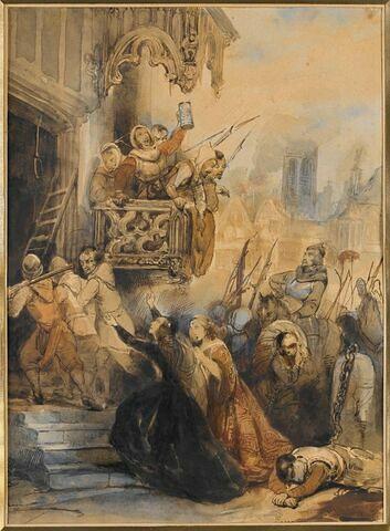 Le Sac d'Anvers par les troupes espagnoles, en novembre 1576