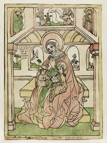 Sainte Anne avec la Vierge et l'Enfant