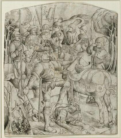L'empereur Valérien humilié par le roi persan Sapor