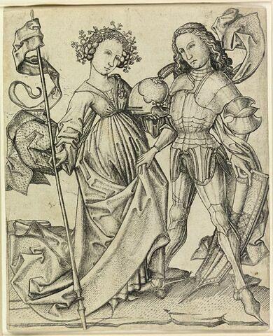 Le guerrier et la femme