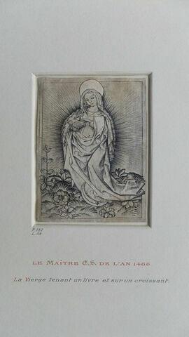 La Vierge tenant un livre