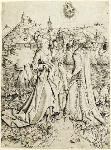 La Sibylle de Tibur et l'Empereur Auguste