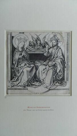 Le Christ bénissant la Vierge