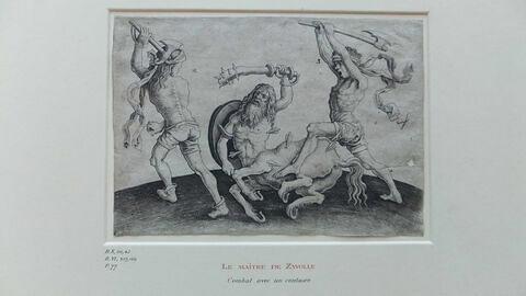 Combat avec un centaure
