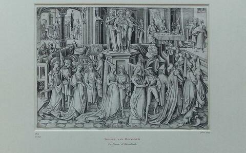 La danse à la cour d'Hérodes