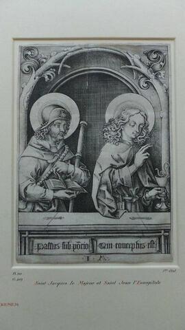 Saint Jacques le Majeur et saint Jean l'Evangéliste