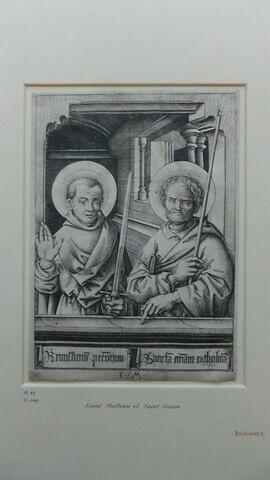 Saint Mathias et saint Judas Thaddée