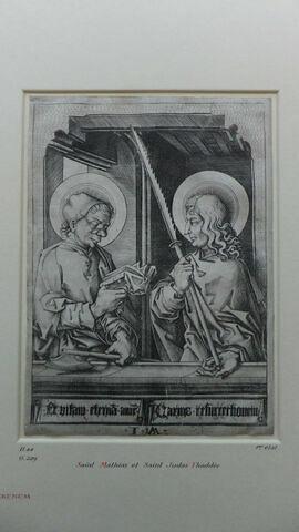 Saint Mathieu et saint Simon