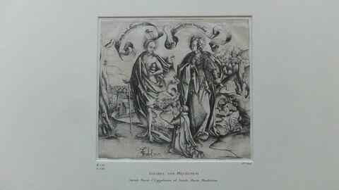 Sainte Marie l'Egyptienne et sainte Marie Madeleine