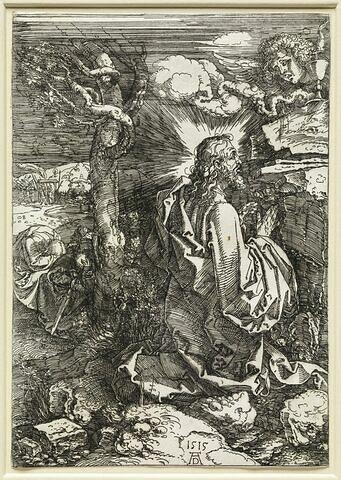 Jésus Christ en prières au jardin des Oliviers