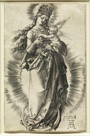 La Vierge à la couronne d'étoiles